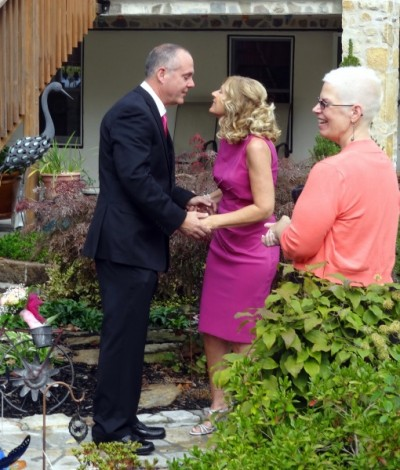 Wedding Ceremony with Reverend Pamela Brehm